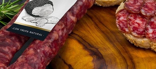 el bordon salchichón trufado