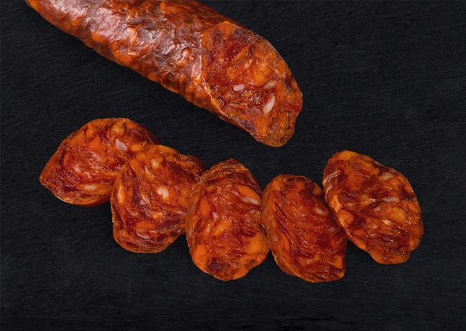 El Bordón salchichón tradicional